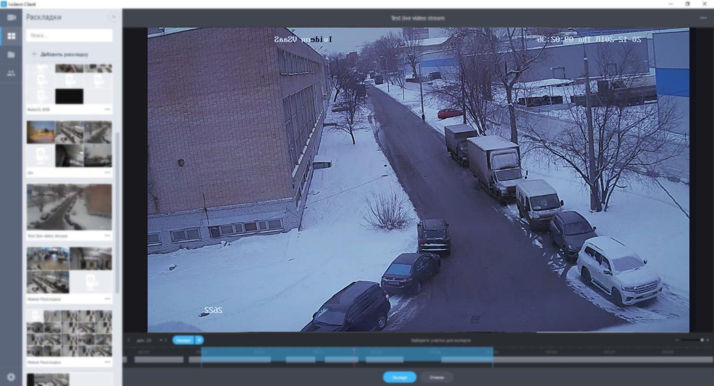 Видеокамеры онлайн — компания Форт